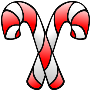 Christmas candy cane transparent clipart 0 image #13709.