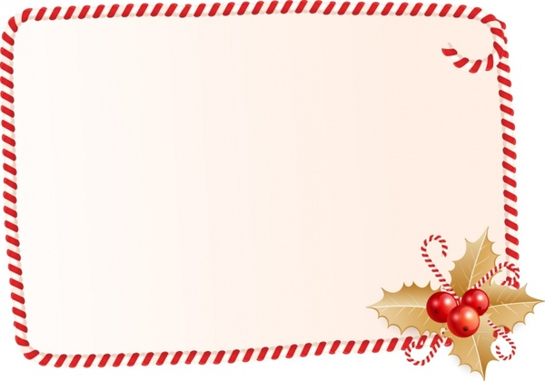Wonky Candy Cane Frame Free vector in Adobe Illustrator ai ( .AI.