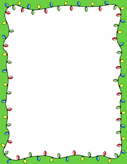 Candy Cane Border: Clip Art, Page Border, and Vector Graphics.