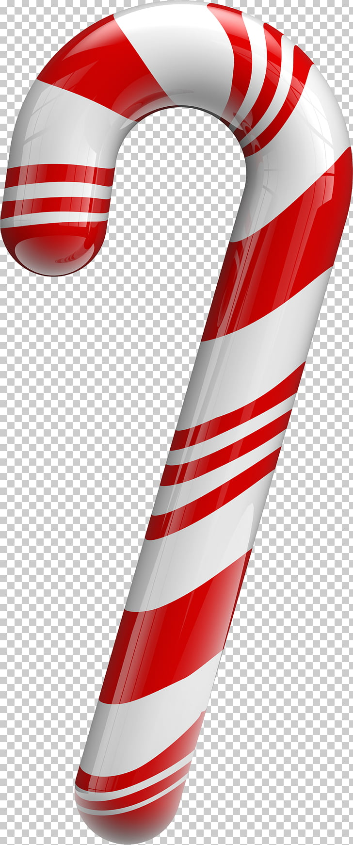 Candy cane Lollipop Christmas , Christmas decorations, candy canes.