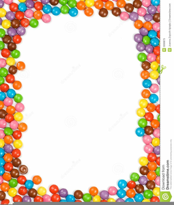 Candy Corn Clipart Border.
