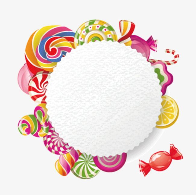 Candy Border PNG, Clipart, Border Clipart, Candy, Candy.