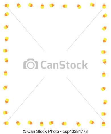 Candy Corn Border.