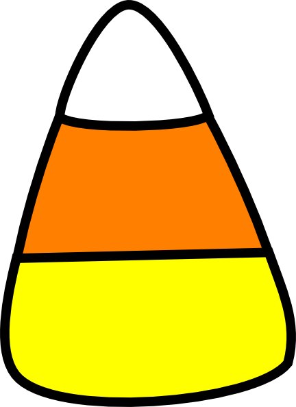 Candy corn halloween candyrn clipart free images.