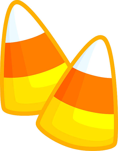 Clipart Of Candy Corn.