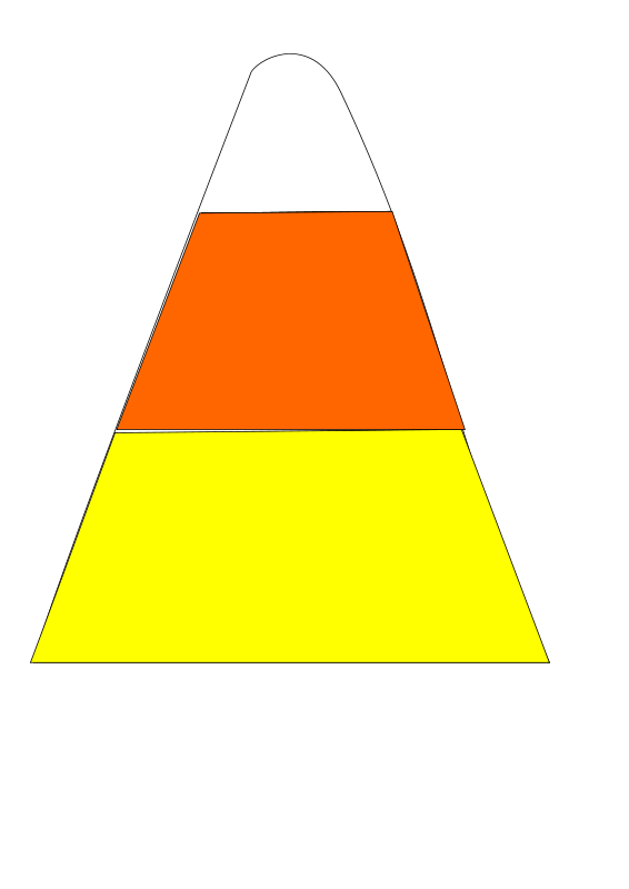 Free Clipart: Candy corn.