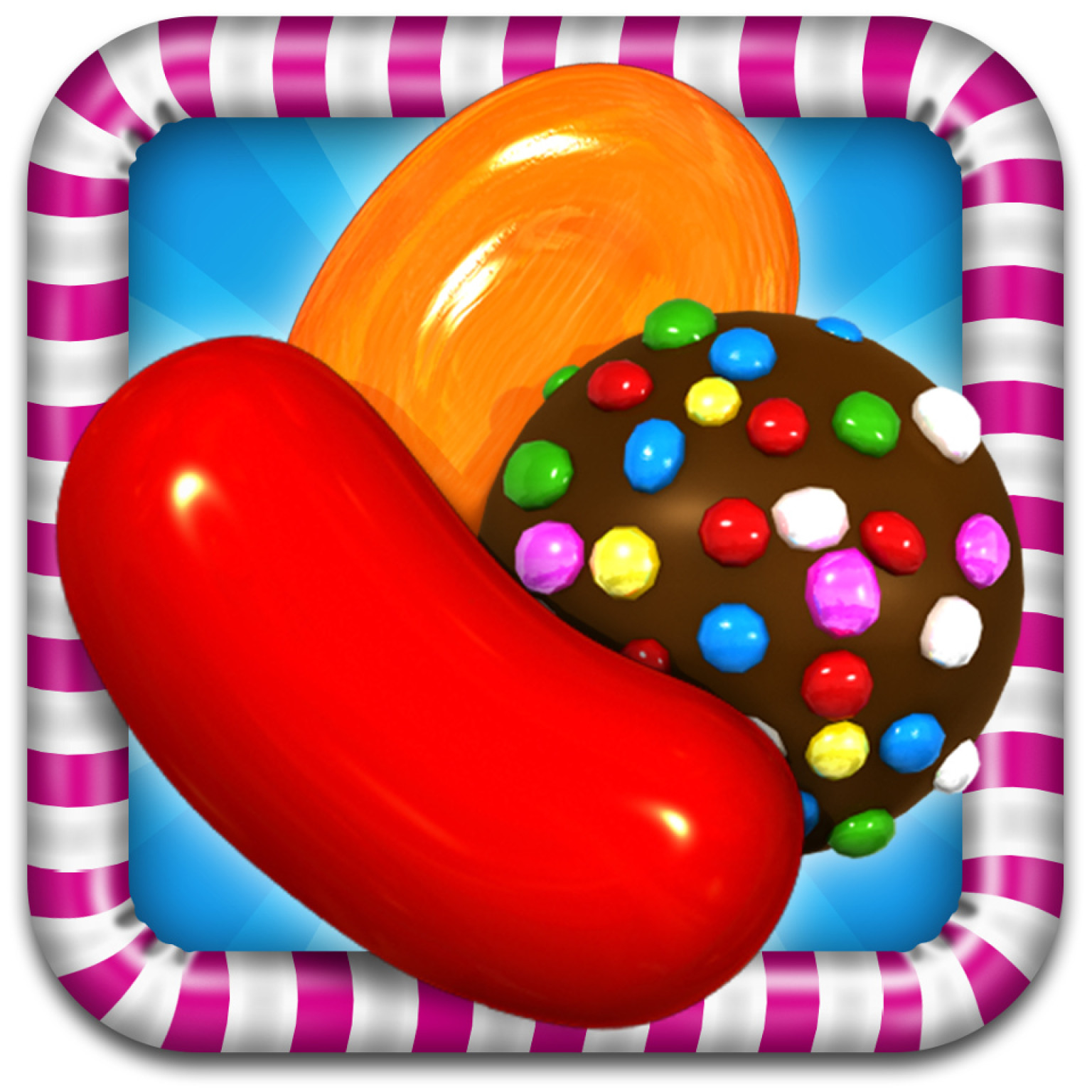 Candy Crush Candy Icons.