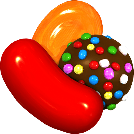 Candy Crush Sweets transparent image.