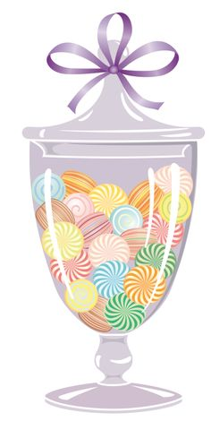 Rainbow Candy Clipart.