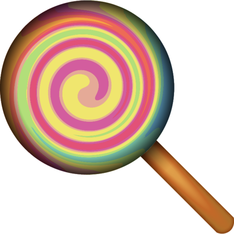 Lollipop Candy Emoji.