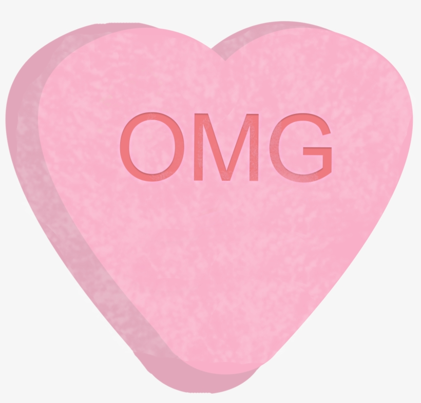 Candy Hearts Png Svg Library.