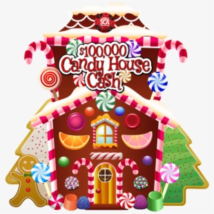 Candy House Cliparts.