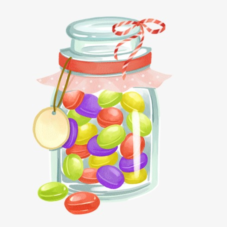 Candy Jar Candy Bottle Png And Psd Sweets In A Jar Png Vector.