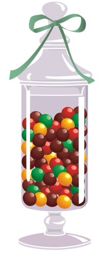 CANDY JAR Candy Clipart, Food Clipart, C #76952.