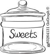 Candy Jar Clip Art.