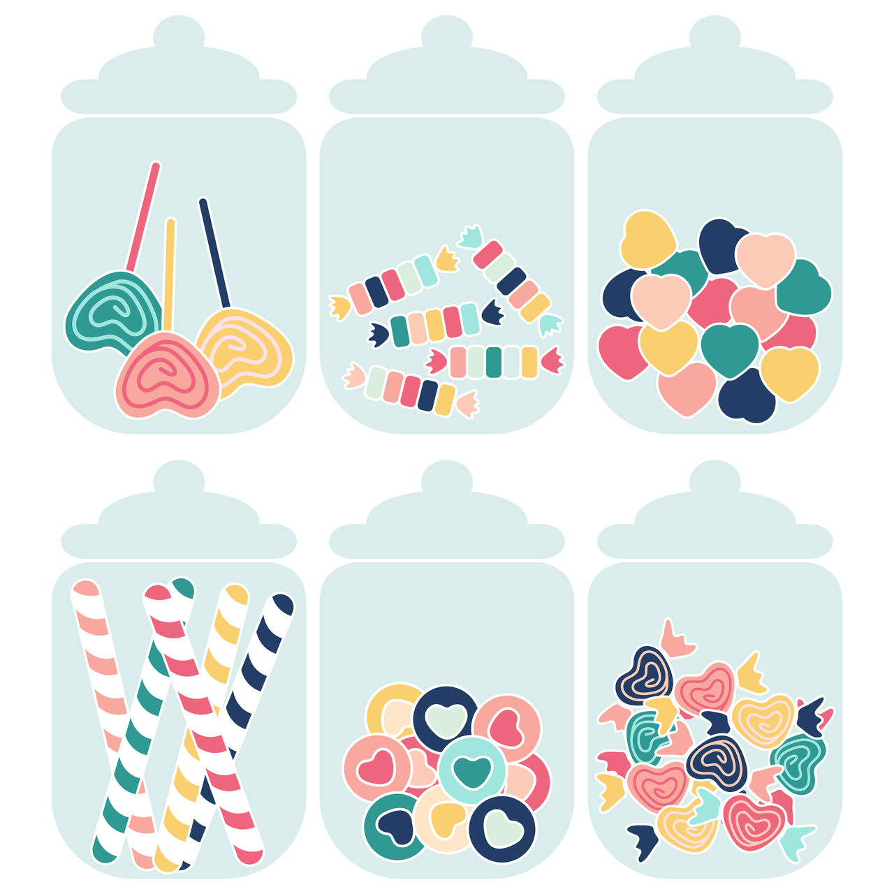 Candy Jar Poster Pack.
