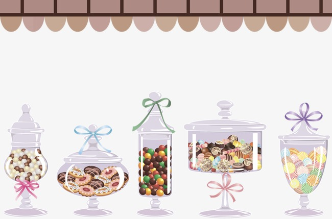 Candy Jar, Candy, Jar, Hand Painted PNG #124612.
