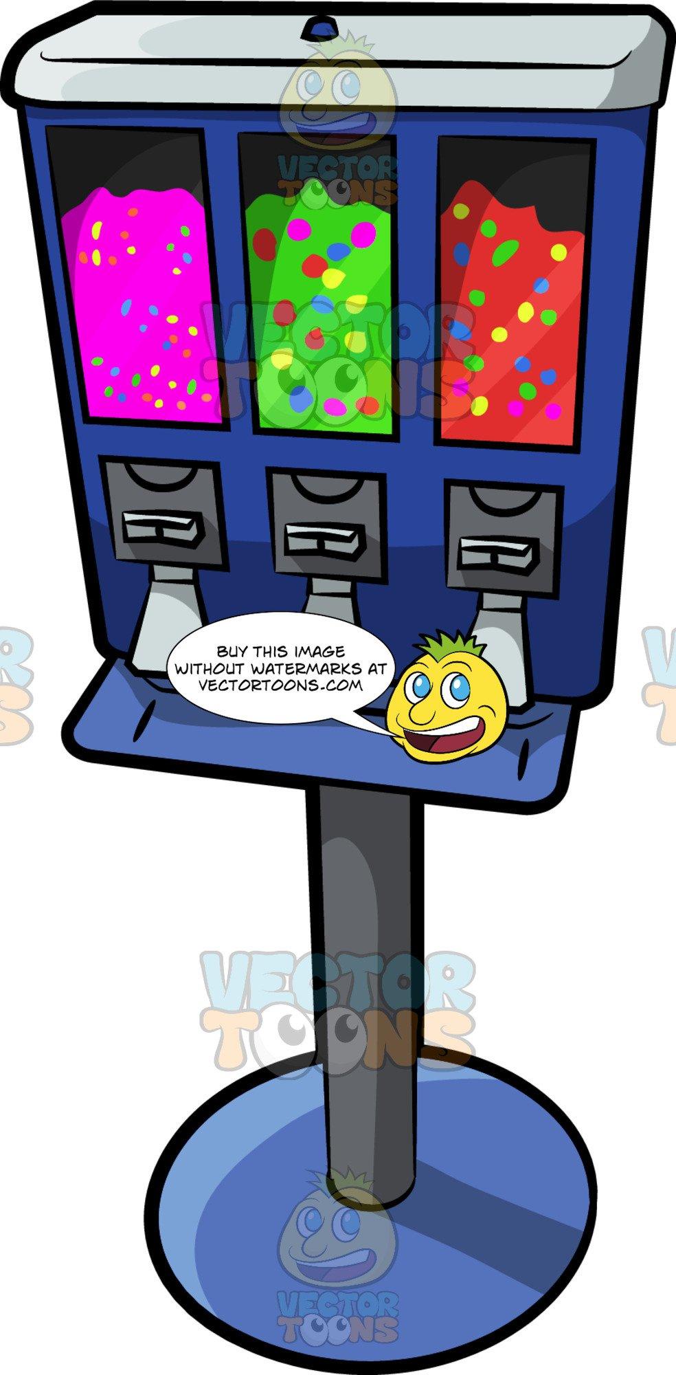 A Candy Vending Machine.