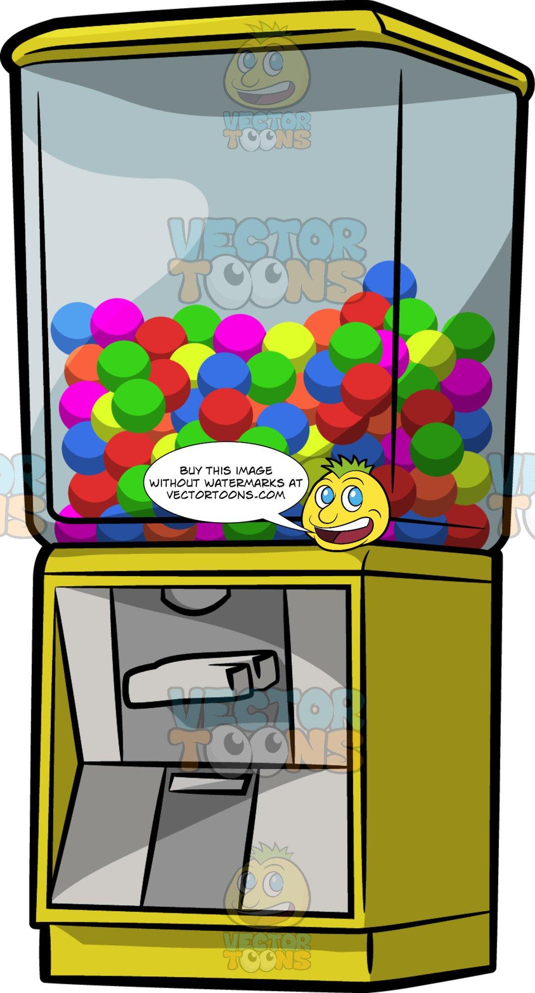 A Gum Ball Vending Machine.