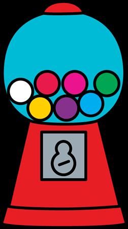 Gumball Machine Clip Art.