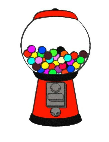 Cute Gumball Machine Drawing uploaded by Stacey.