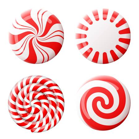 4,508 Peppermint Candy Stock Vector Illustration And Royalty Free.