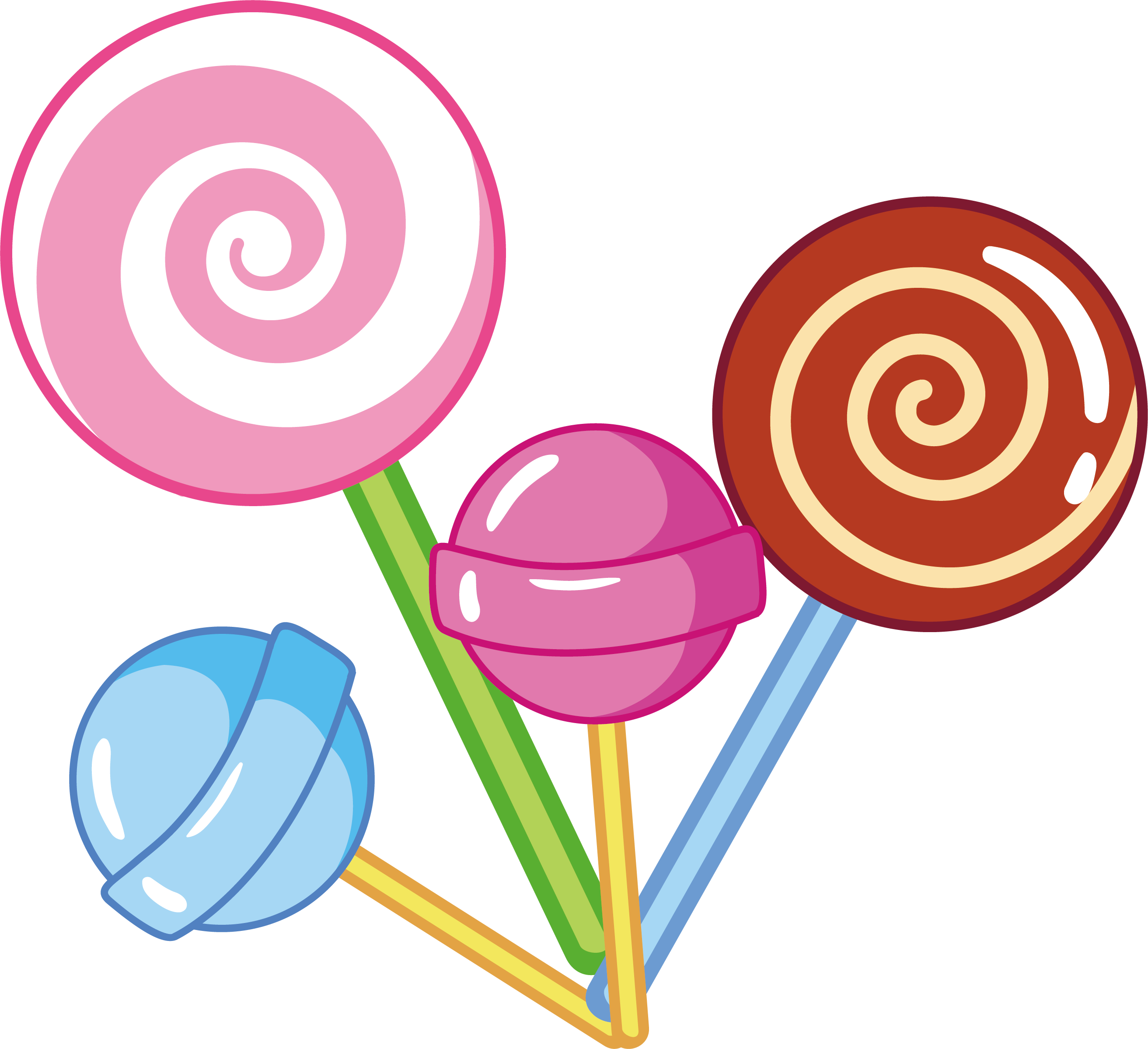Lollipop Euclidean vector Candy.