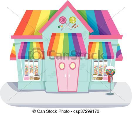Candy shop clipart » Clipart Portal.