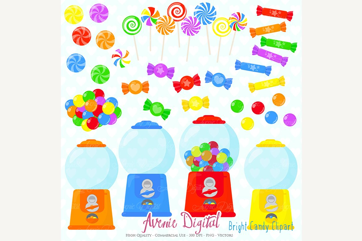 Candy Shop Clipart.