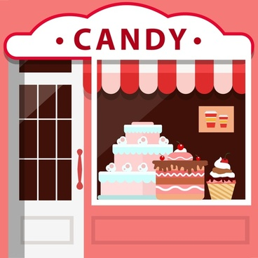 Candy shop free vector download (2,145 Free vector) for commercial.