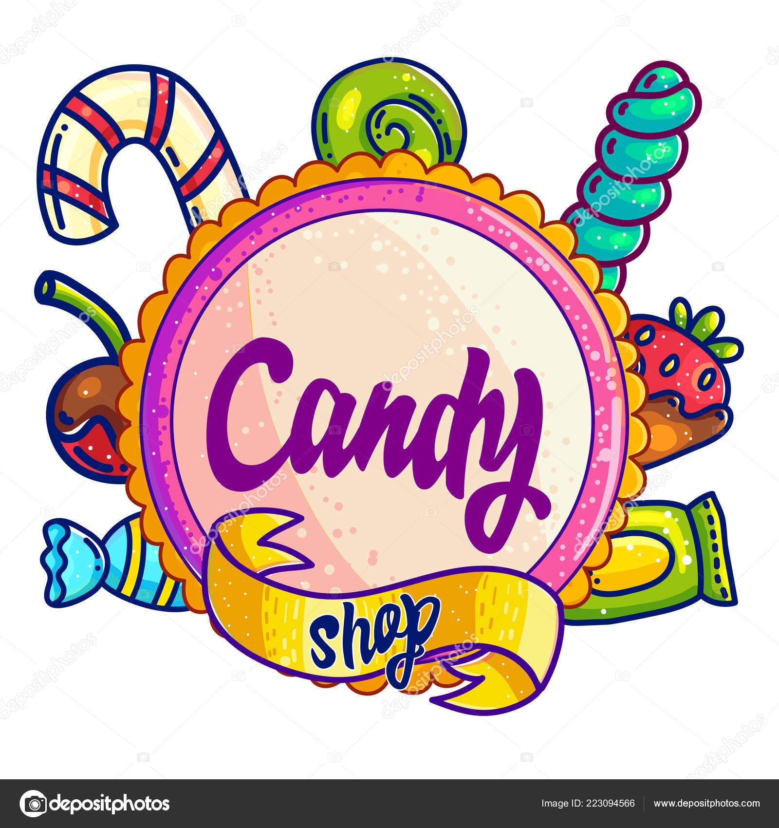 Clipart: sweet treats.
