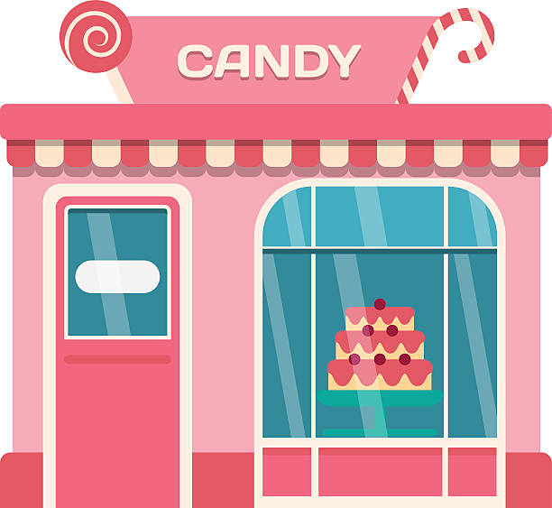 Best Candy Store Illustrations, Royalty.