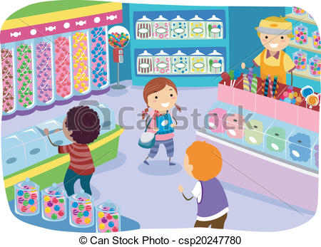 Candy Store.