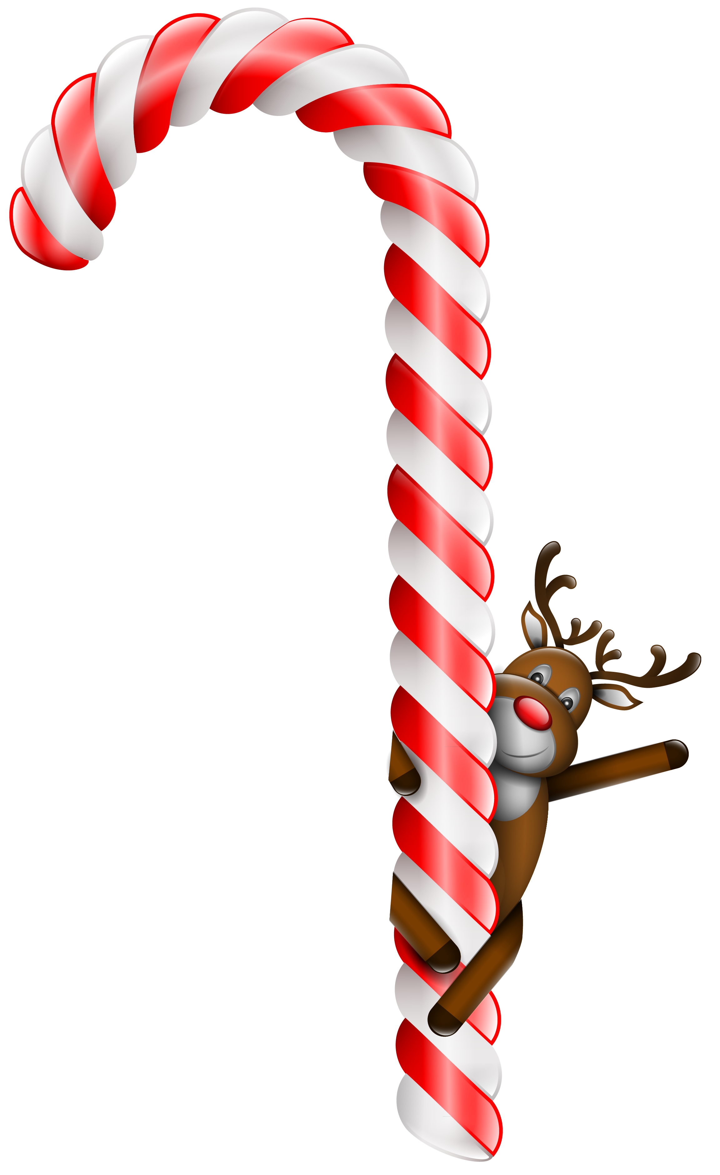 Candy cane transparent.