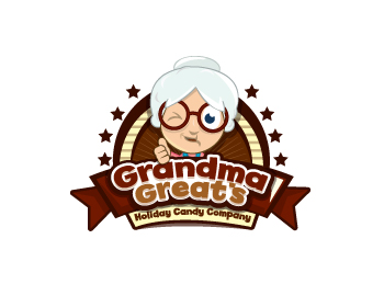 Grandma Great\'s Holiday Candy Company logo design contest.