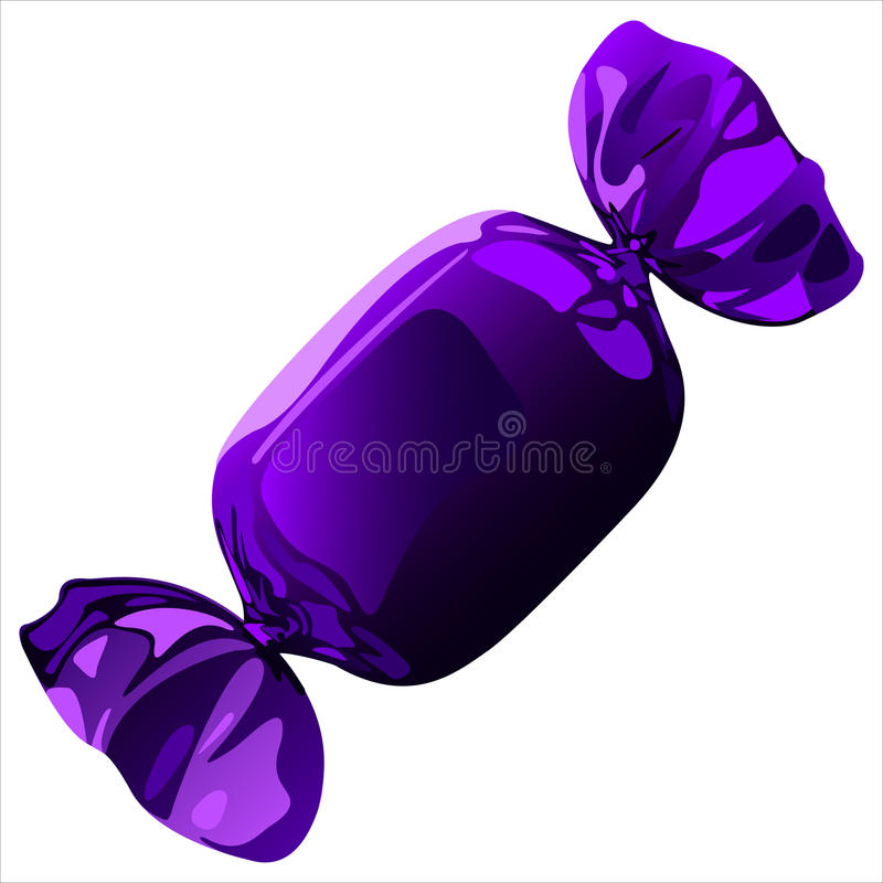 Candy Wrapper Stock Illustrations.
