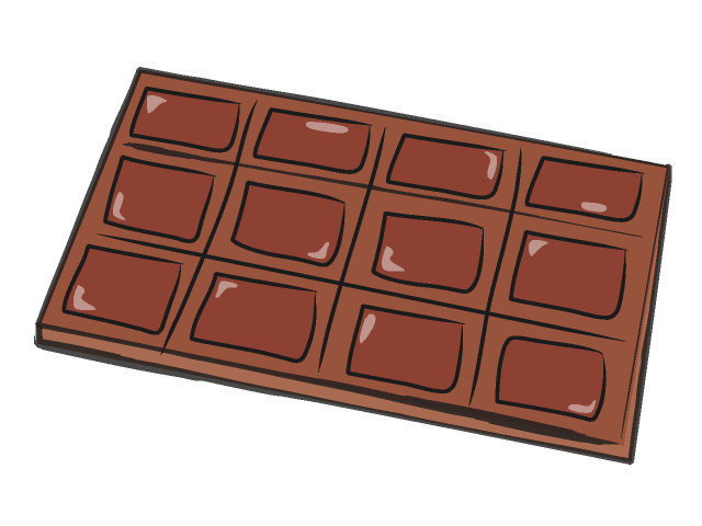 Chocolate Bar Clip Art.