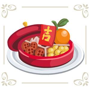 Chinese Candy Box.