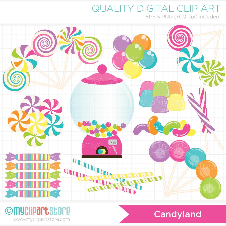 49+ Candyland Clip Art.