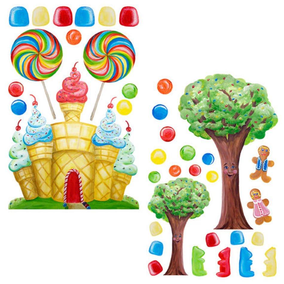 Candyland Border free image.