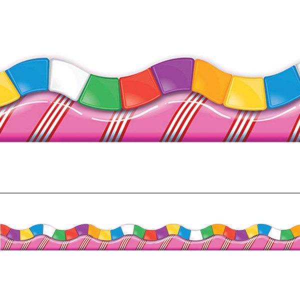 Candy Land Extra Wide Border.