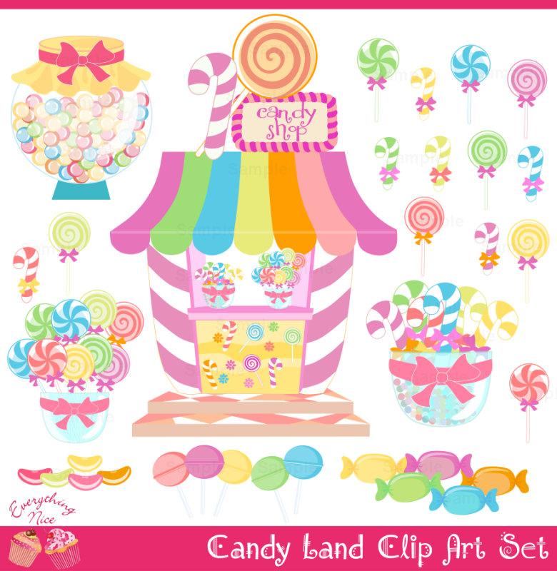 46+ Candyland Clip Art.