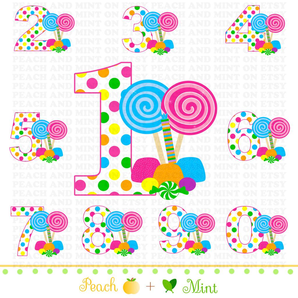 Candyland Clipart Sheets 1728.
