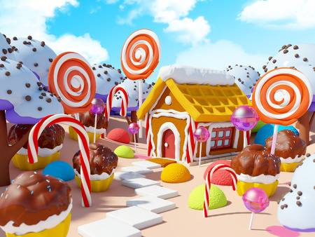 624 Candy Land Stock Vector Illustration And Royalty Free Candy Land.