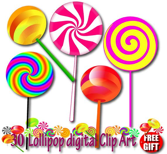 Candyland Clipart.