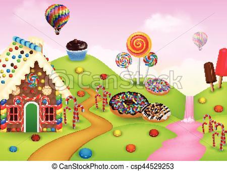 Candyland clipart 2 » Clipart Portal.