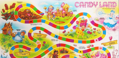 Candy Land Game Mistake.
