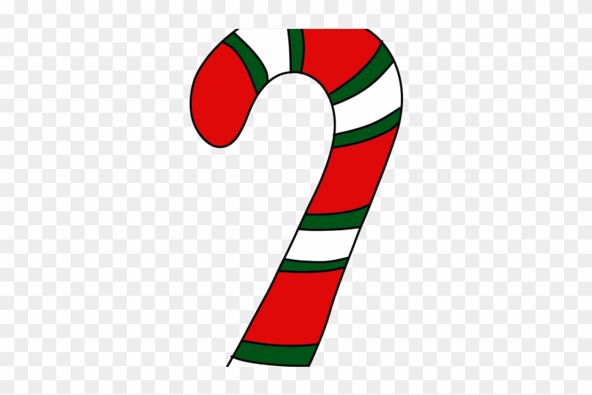 Candy Cane Clipart Question Mark.