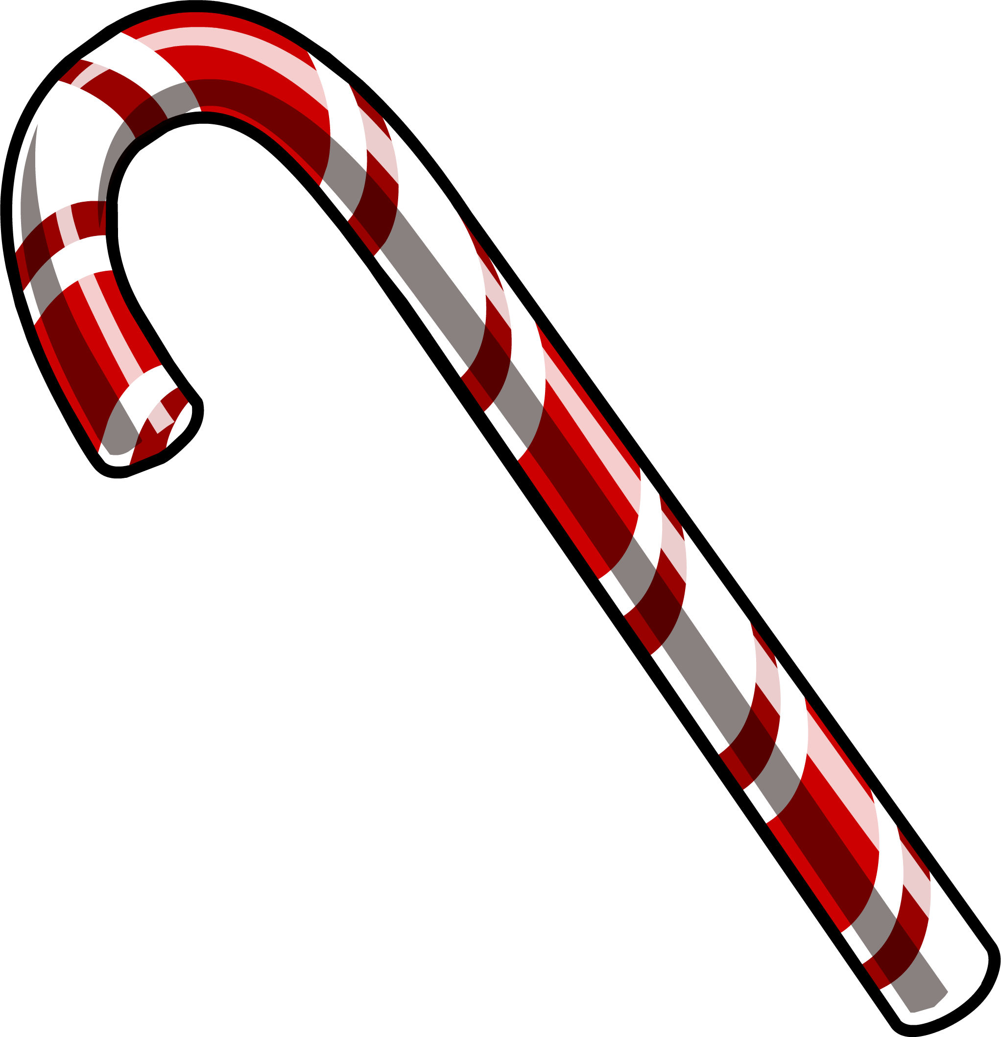 Download Candy Cane PNG File.
