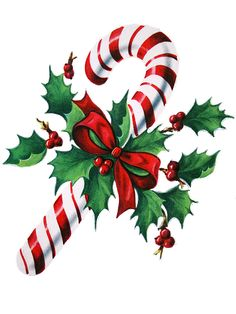 Christmas Candy Canes Clip Art #scqpBa.